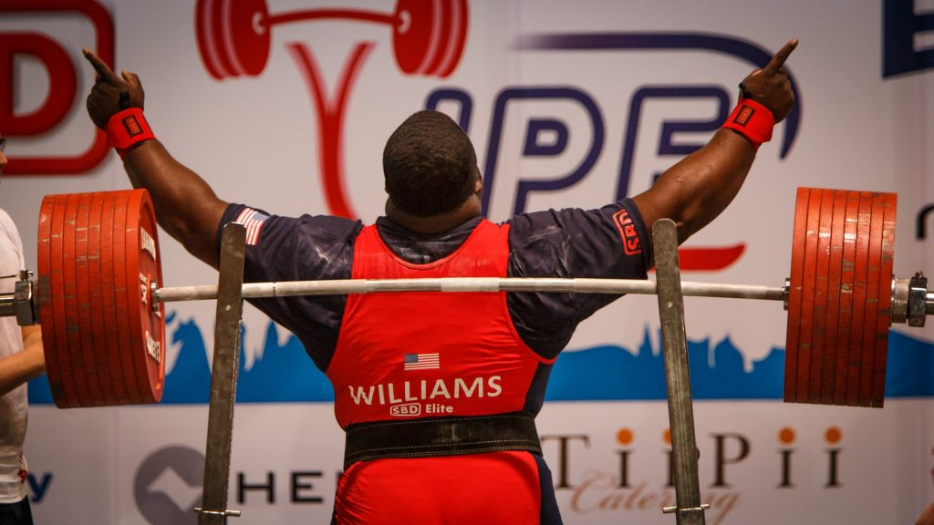 Ray William ipf world champion